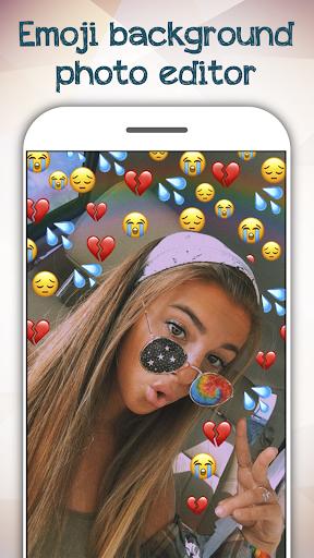 Emoji Background Photo Editor For PC