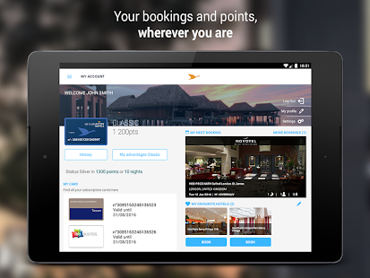 App AccorHotels hotel booking apk for kindle fire