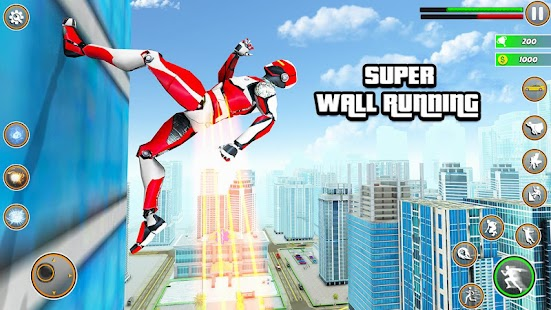 Speed Robot Game – Miami Crime City Battle for pc