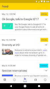 Google I/O 2017 Screenshot
