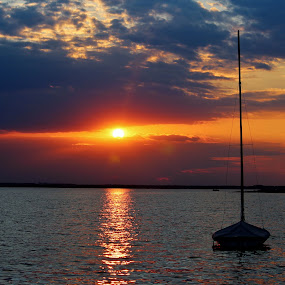 Sailor's Delight by Keri Butcher - Novices Only Landscapes ( sailing, bay, ocean, travel, sailboat, new jersey )