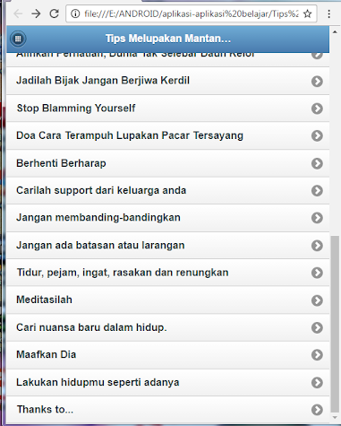 Tips Forgetting Former Lover Screenshot