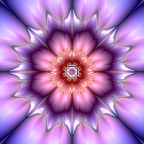 Flower 19 by Cassy 67 - Illustration Abstract & Patterns ( love, abstract, digital art, circle, flowers, fractal, digital, fractals, energy, flower )