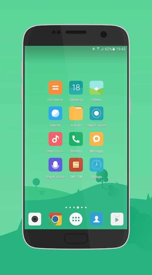 MIUI 8 - Icon Pack (beta) Screenshot 1
