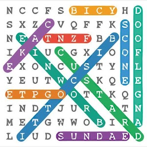 Word Search Colorful+Puzzles