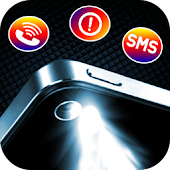 Download Flash Alert ON Call && SMS free APK on PC