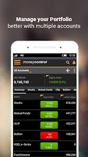 Moneycontrol Markets on Mobile APK Descargar
