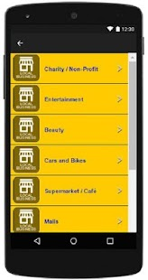 The BizzList Vereeniging App - screenshot