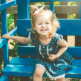 Silly Smiles by Jenny Hammer - Babies & Children Children Candids ( girl, baby, smile, cute, toddler )