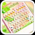 Rainbow Ladybug Emoji Keyboard APK for Lenovo