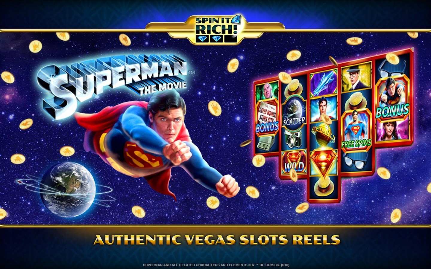 Spin It Rich! Free Slot Casino Screenshot 12