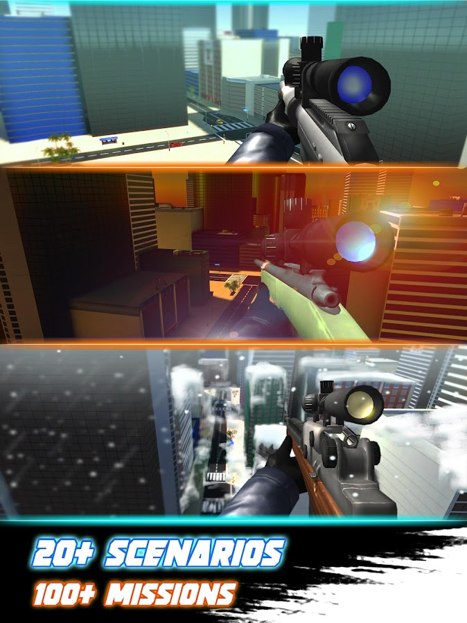 Sniper 3D Silent Assassin Fury Screenshot 7