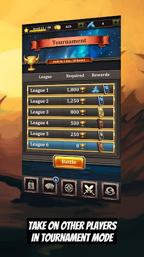 CCG Deck Adventures Wild Arena: Collect Battle PvP screenshot 5