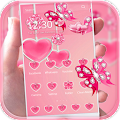 Pink Theme Love Rose Pink APK for Bluestacks