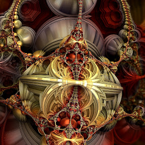 MB3D - 693 by Siniša Dalenjak - Illustration Abstract & Patterns ( 3d, mandelbulb 3d, fractal )