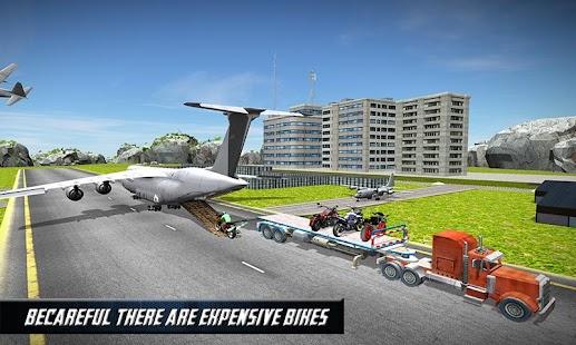 Airplane Bike Transporter Plan APK for Bluestacks