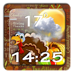 Thanksgiving Day Widget FREE file APK Free for PC, smart TV Download