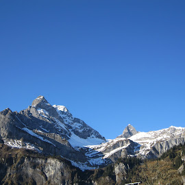 Braunwald, Glarus, Switzerland by Serguei Ouklonski - Landscapes Mountains & Hills ( mountain peak, mountain, outdoors, nature, range, season, landscape, scenics )