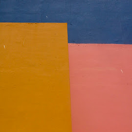 Cancun abstract by Gene Myers - Abstract Patterns ( shotsbygene, abstract, cancun, mexico, colors, wall,  )