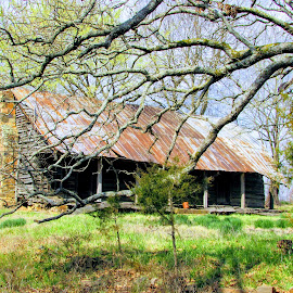 Homestead by Rick Covert - Buildings & Architecture Decaying & Abandoned ( old house, memories, rural, country, arkansas )