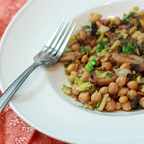 Warm Chickpea Salad