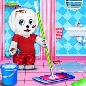 Puppy Daily Activities Game - Pet Daycare For PC (Windows & MAC)