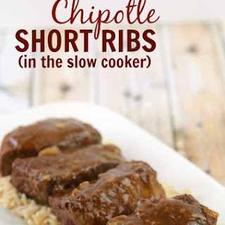 Slow Cooker Chipotle Short Ribs