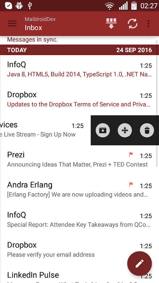 MailDroid Pro - Email Application Screenshot 14