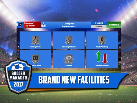 Soccer Manager 2017 APK screenshot thumbnail 3