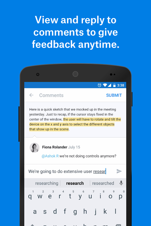 Dropbox Paper Beta Screenshot 1