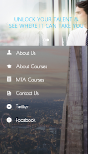 MTA Courses - screenshot