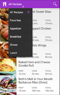 Cooking Recipes Delicious Food - screenshot