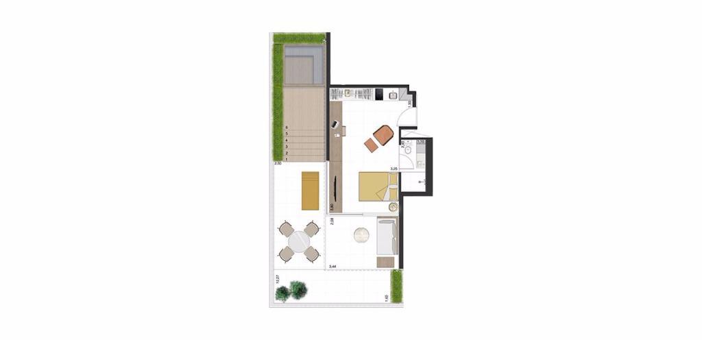 Garden Tipo 1 - 76 m²