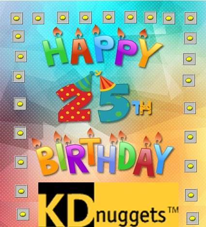Happy 25th Birthday, KDnuggets