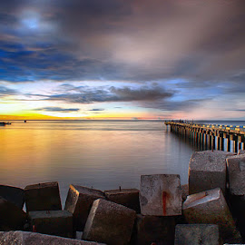 Travel at Nunhila Beach by Why Netra - Landscapes Travel ( indonesian, landscape, travel photography )
