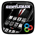 Gentleman Go Launcher Theme APK for Bluestacks