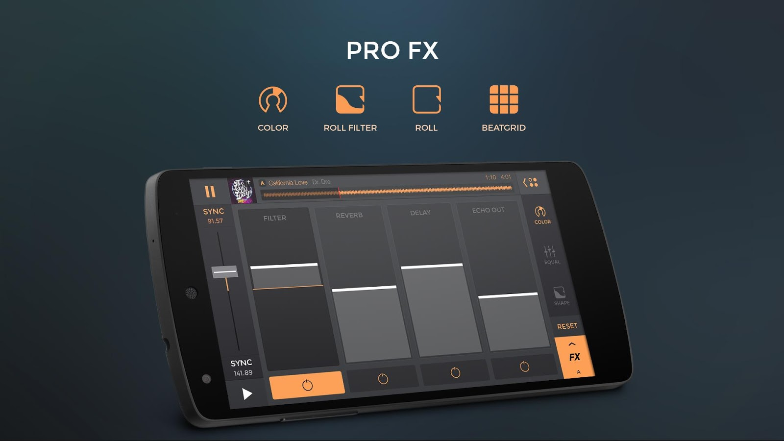 edjing PRO - Music DJ mixer Screenshot 3