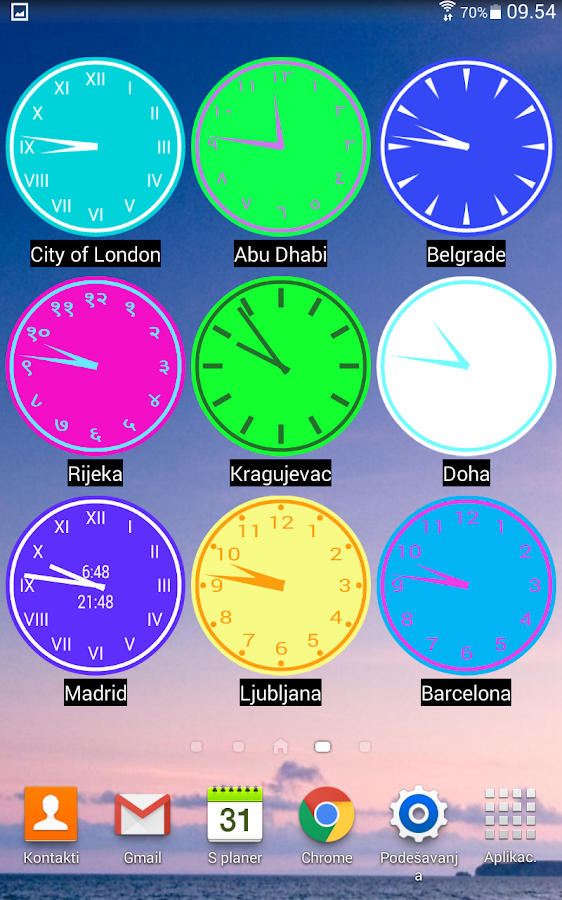 Planet Sunshine World Clock + Screenshot 10