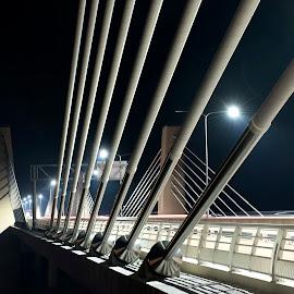 New River Crossing in Stillwater by Peter Stratmoen - Buildings & Architecture Bridges & Suspended Structures ( wisconsin, minnesota, stillwater, d850, bridge, nikon )