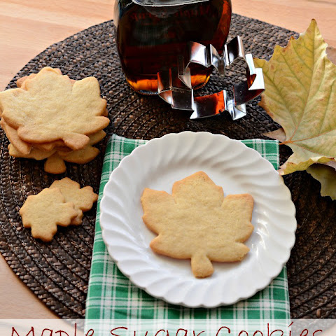 Crispy Maple Sugar Cookies