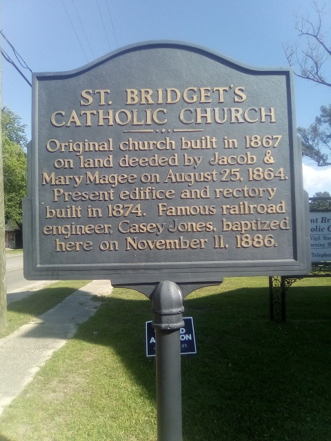 Original church built in 1867 on land deeded by Jacob & Mary Magee on August 25, 1864. Present edifice and rectory built in 1874. Famous railroad engineer, Casey Jones, baptized here on November 11, ...