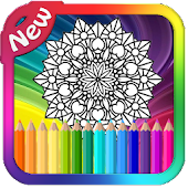 Mandala Coloring Pages APK for Bluestacks