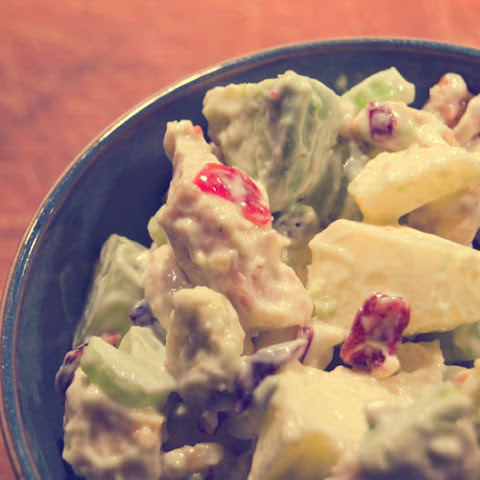 Chicken Salad With Grapes, Apples And Cranberries recipe