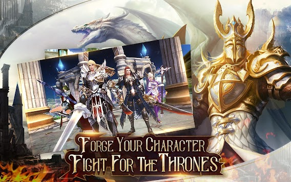 Immortal Thrones-3D Fantasy Mobile MMORPG APK screenshot thumbnail 9