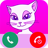 Download Android App Call from talking my Cat Angela for Samsung
