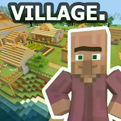Survival Village Minecraft map APK for Bluestacks