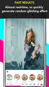 Glitch Photo Maker - Glitch Art & Trippy Effects APK screenshot thumbnail 3