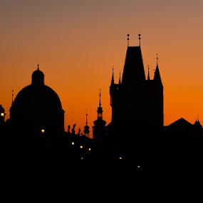 Prague  by Robert Grim - Buildings & Architecture Public & Historical ( europe, sunset, czech, czech republic, morning, praha, prague,  )