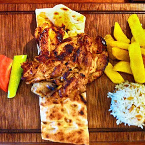 Kabab by Deep Ocean - Food & Drink Plated Food ( chicken, tasty, food, nice, kabsb, spices, turkish,  )