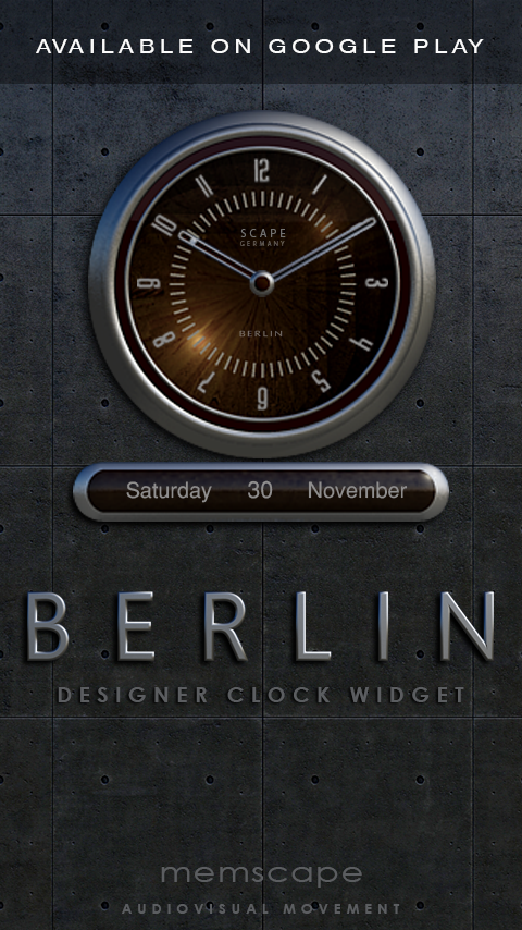BERLIN Next Launcher 3D Theme Screenshot 4